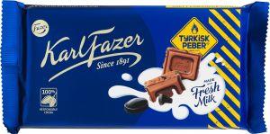 Karl Fazer Chokolade Tyrkisk Peber