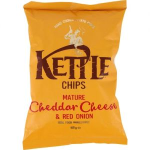 Kettle Chips Mature Cheddar Cheese & Red Onion