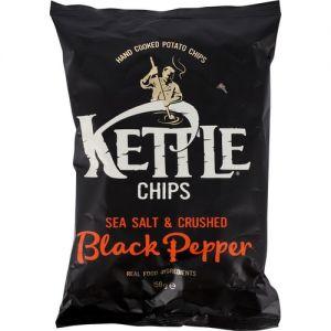 Kettle Chips Sea Salt & Crushed Black Pepper
