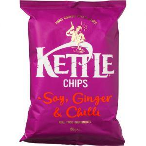 Kettle Chips Soy, Ginger & Chilli