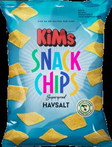 KiMs Snack Chips Havsalt
