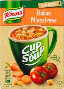 Knorr Cup of Soup Minestrone
