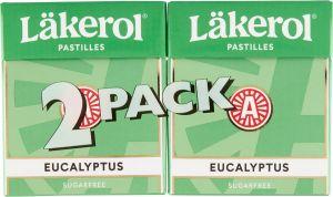 Läkerol Eucalyptus  2-pack