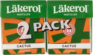 Läkerol Pastilles Cactus 2-pack