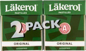 Läkerol Pastilles Original 2-pack