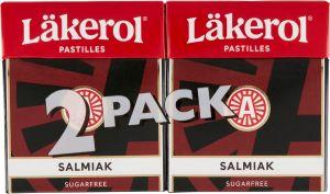 Läkerol Pastilles Salmiak 2-pack