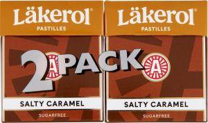 Läkerol Pastilles Salty Caramel 2-pack