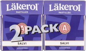 Läkerol Pastilles Salvi 2-pack