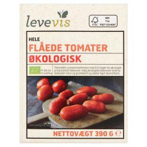 Levevis Organic Whole PeeledTomatoes