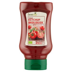 Levevis Organic Tomato Ketchup
