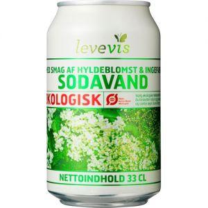 Levevis Organic Soft Drink Elderflower & Ginger