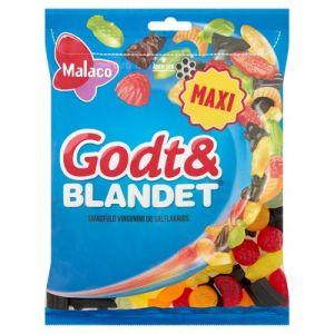 Malaco Godt & Blandet 0,375 kg