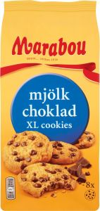 Marabou Mælkechokolade XL Cookies