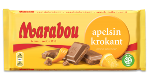 Marabou Orange Crunch Chocolate
