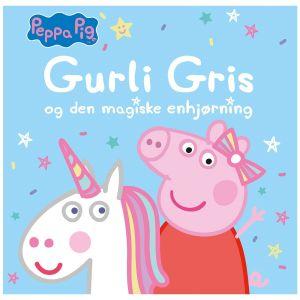 Peppa Pig, Gurli Gris and the magical unicorn