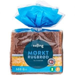 Salling Mørkt Rugbrød 0,5 kg