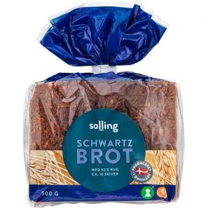 Salling Schwartzbrot Rye Bread 0,5 kg