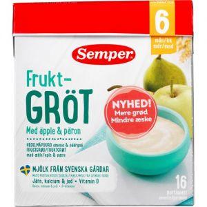 Semper Fruit Porridge Apple & Pear