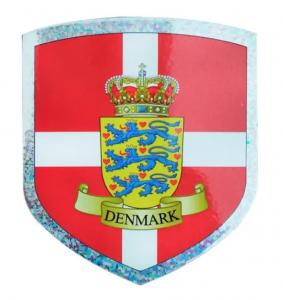 Dansk Våbenskjolds Klistermærke
