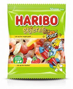 Haribo Stjerne Mix Sour 0,12 kg
