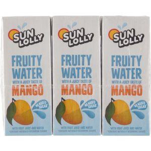 Sun Lolly Fruity Water Mango