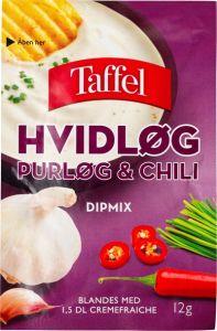 Taffel Hvidløg Purløg Chili Dipmix