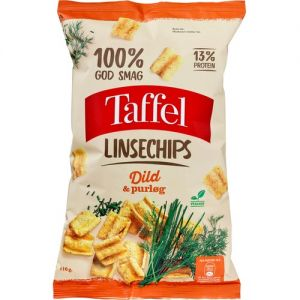 Taffel Lentil Chips Dill & Chives
