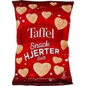 Taffel Snack Hearts Salt