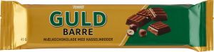 Toms Guld Barre Mælkechokolade Med Hasselnødder