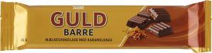 Toms Guld Barre Mælkechokolade Med Karamelknas