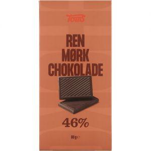 Toms Ren Mørk Chocolade 46%