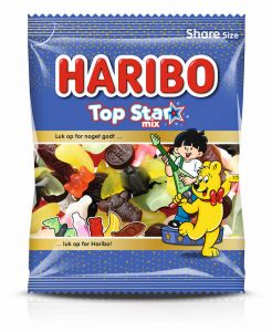 Haribo Top Star Mix 0,12 kg