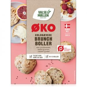 Valsemøllen Organic Cold Raised Brunch Buns Mix