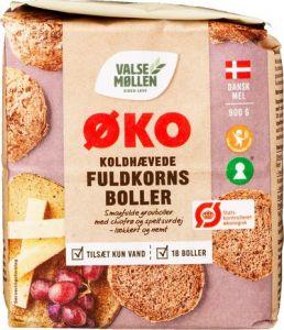 Valsemøllen Organic Cold Raised Whole Grain Buns Mix