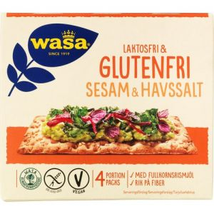 Wasa Lactose-Free & Gluten-Free Sesame & Seasalt