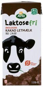 Arla Organic Lactose-Free Chocolate Milk