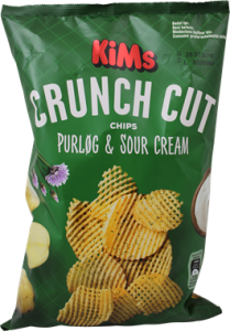 KiMs Crunch Cut Purløg & Sour Cream