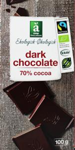Änglamark Dark Chocolate 70% Cacoa