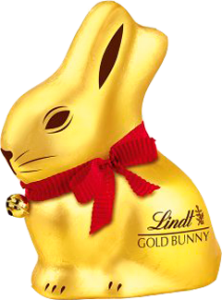 Lindt Easter Chocolate Gold Bunny