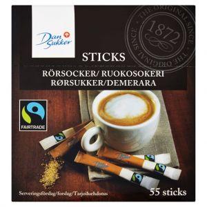 Dansukker Cane Sugar Sticks