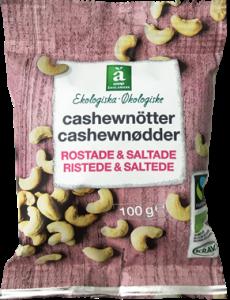 Änglamark Roasted & Salted Cashew Nuts