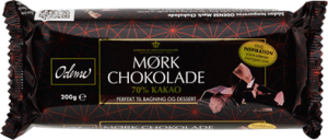 Odense Dark Chocolate 70% Cacoa