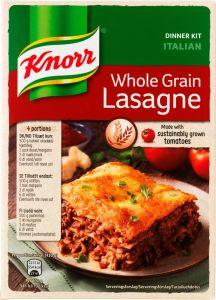 Knorr Whole Grain Lasagne