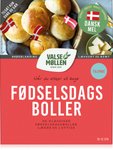 Valsemøllen Birthday Buns Mix