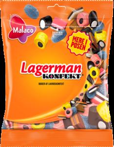 Malaco Lagerman Candy 0,19 kg