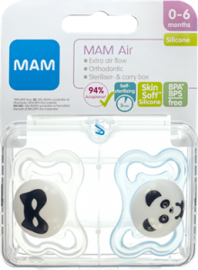 MAM Air Pacifier Boys 0-6 Months