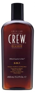 American Crew Classic 3-IN-1 Shampoo