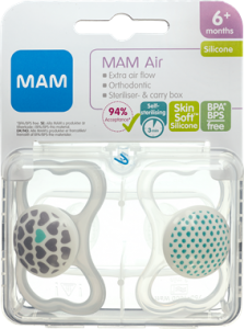 MAM Air Silicone Pacifier Unisex +6 Months