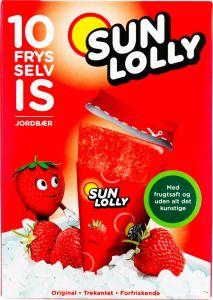 Sun Lolly Strawberry