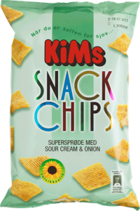 KiMs Snack Chips Sour Cream & Onion